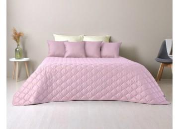Bedspread Cube style, powder / St. gray TM Idea (140/210 cm)