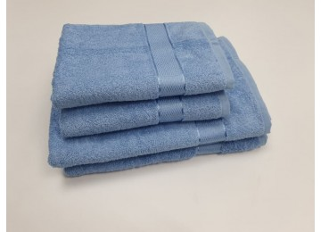 Полотенце махровое, Голубой для рук 40x70см