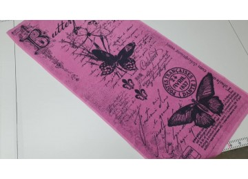 Terry towel Love story for face 50x90cm