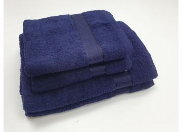 Полотенце махровое, Черничный для лица 50x90см
