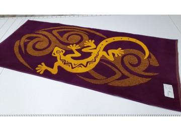 Полотенце Речицкий текстиль махровое Ящерица банное 67x150см