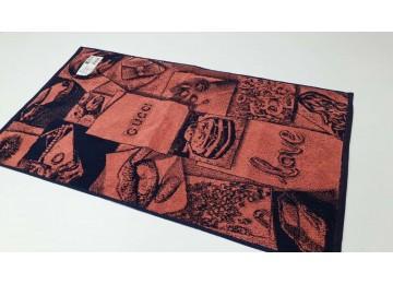 Полотенце Речицкий текстиль махровое Женские штучки (корал) для лица 50x90см