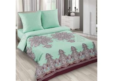 Постельное белье поплин Турецкие мотивы, двуспальное Комфорт текстиль