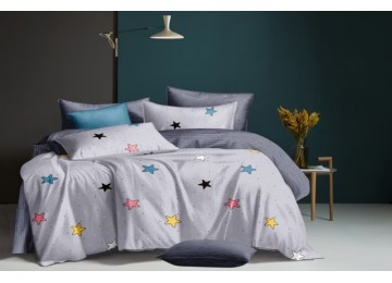 Постельное белье сатин Сияние, двуспальное Комфорт текстиль