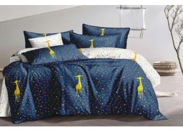 Постельное белье сатин Жираф, двуспальное Комфорт текстиль
