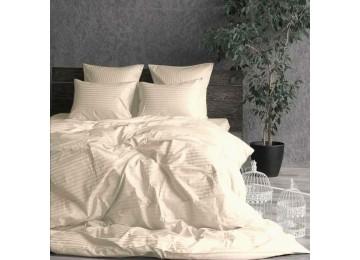 Постельное белье страйп-сатин CHAMPAGNE евро Комфорт текстиль