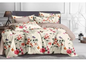 Постельное белье сатин Арина, семейное Комфорт текстиль